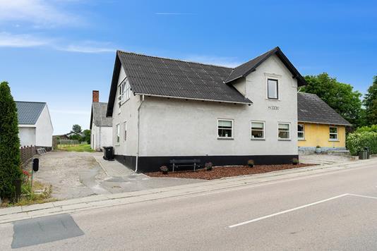 Villa på Ørslevvej i Vordingborg - Set fra vejen