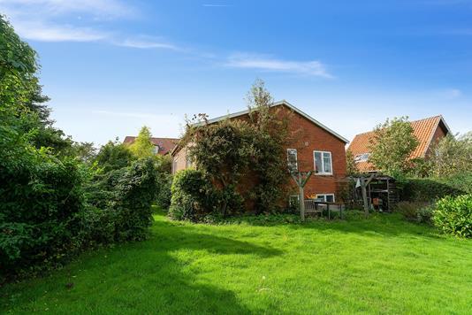 Villa på Th. Hansensvej i Præstø - Set fra haven