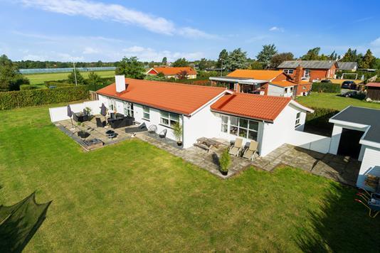 Villa på Kastrupvej i Vordingborg - Set fra haven