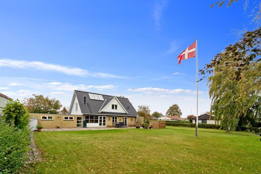 Villa på Børgesvej i Præstø - Set fra haven