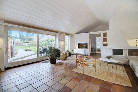 Villa på Skråvej i Bagsværd - Stue