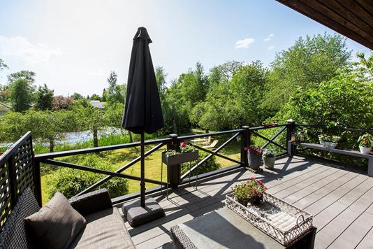 Villa på Tranemosevej i Ballerup - Tagterrasse