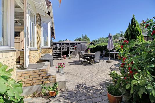 Villa på Skovbrynet i Bagsværd - Terrasse