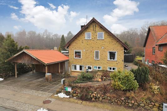 Villa på Skovbrynet i Bagsværd - Ejendommen
