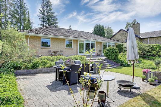 Villa på Haremosen i Bagsværd - Terrasse