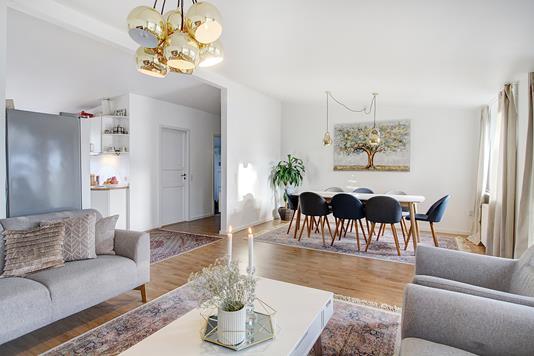 Villa på Råvænget i Bagsværd - Stue