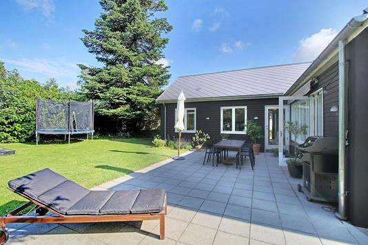 Villa på Gammel Åvej i Værløse - Terrasse