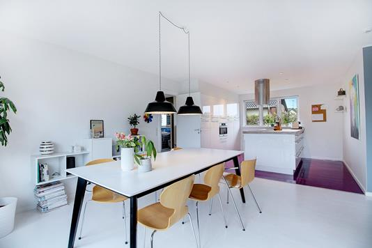 Villa på Råvænget i Bagsværd - Køkken
