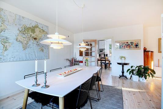 Villa på Ulvebjerg i Bagsværd - Spisestue