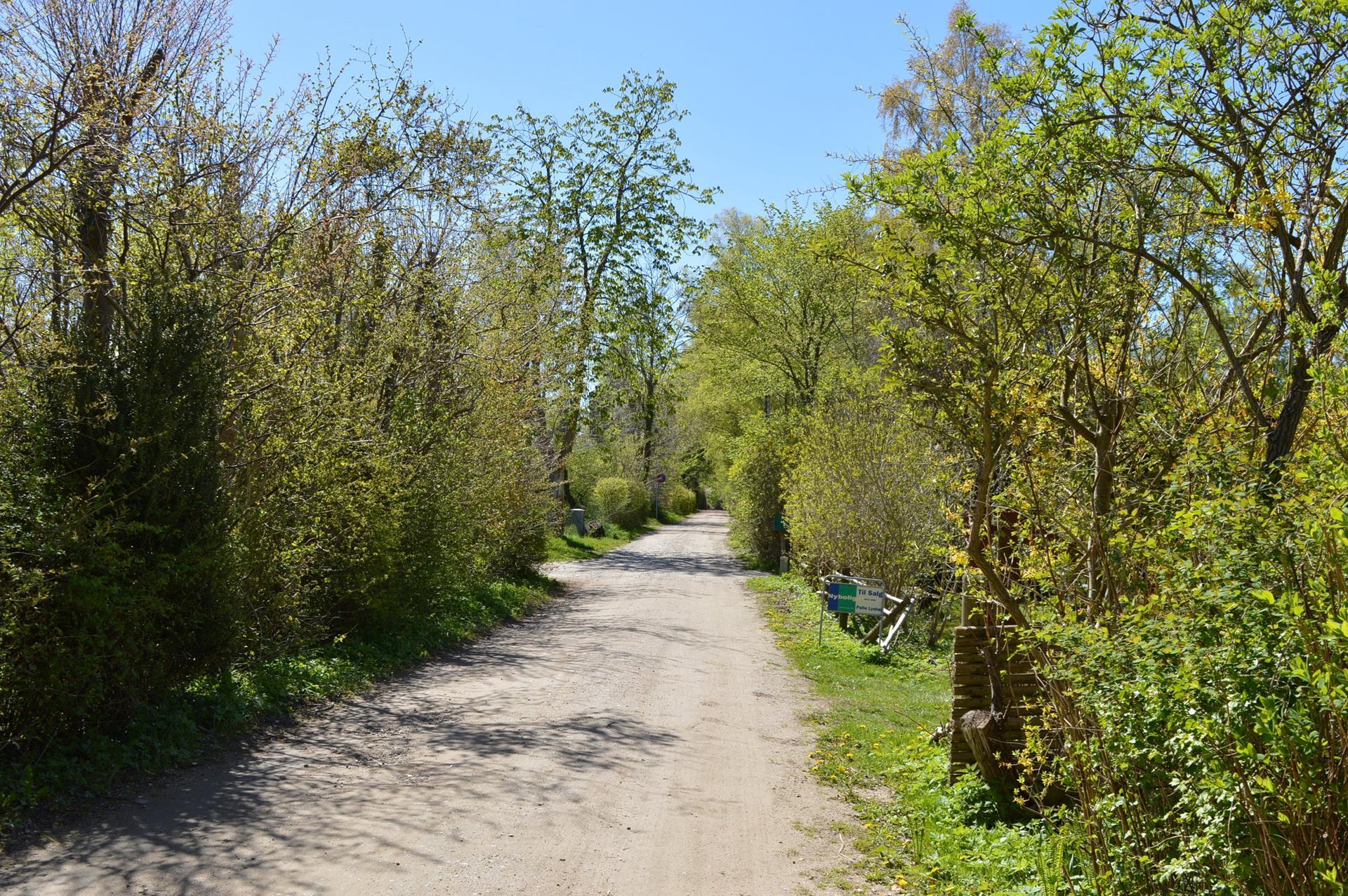 Fritidsgrund på Hegnsvej i Tisvildeleje - Streetview
