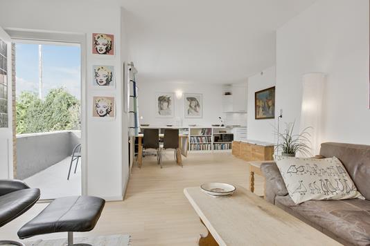Villa på Odinsvej i Helsingør - Stue