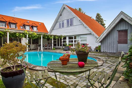 Villa på Frejasvej i Helsingør - Swimmingpool