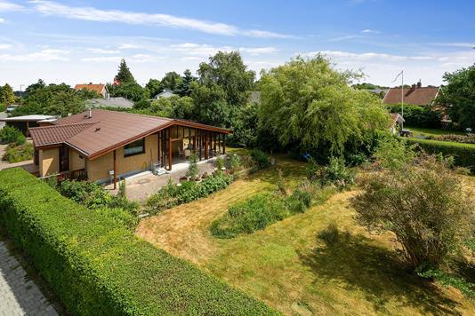 Villa på Odinsvej i Helsingør - Set fra haven