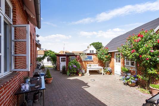 Villa på Nordre Strandvej i Hornbæk - Terrasse