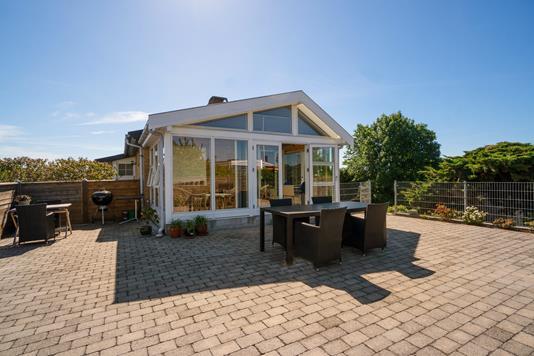 Villa på Viborgvej i Helsingør - Terrasse