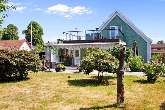Villa på Rosenkildevej i Helsingør - Set fra haven