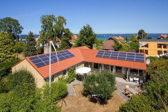 Villa på Eremitvej i Helsingør - Set fra haven