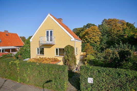 Villa på Koldingvej i Helsingør - Set fra vejen