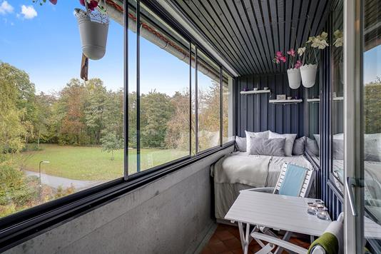 Ejerlejlighed på Søndermarken i Espergærde - Altan