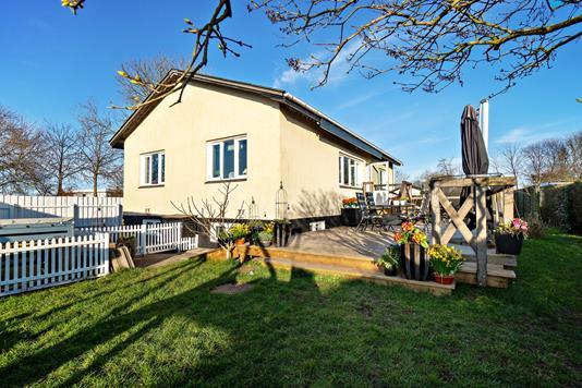Villa på Gefionsvej i Helsingør - Set fra haven
