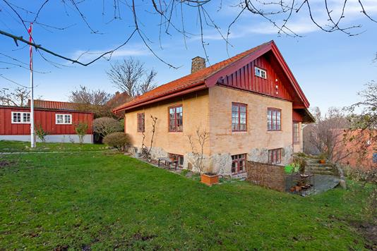 Villa på Viborgvej i Helsingør - Set fra haven