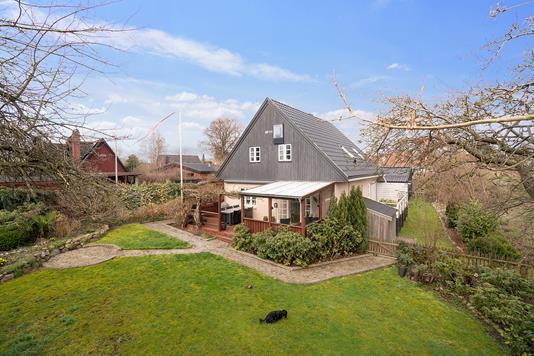 Villa på Kildemosevej i Espergærde - Set fra haven