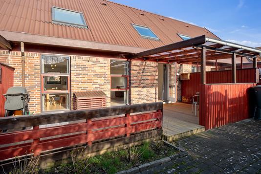 Villa på Æblehaven i Helsingør - Set fra haven