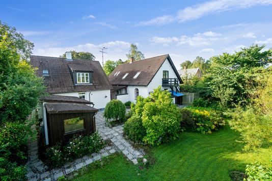 Villa på Kildedalsvej i Birkerød - Set fra haven