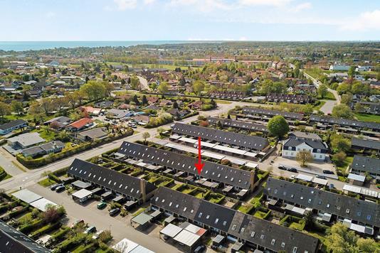 Villa på Dortevej i Espergærde - Luftfoto