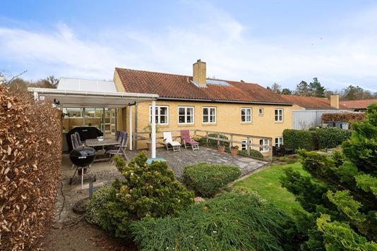 Villa på Egebjerghuse i Ballerup - Set fra haven