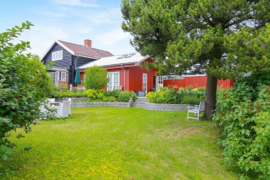 Villa på Ballerupvej i Værløse - Have