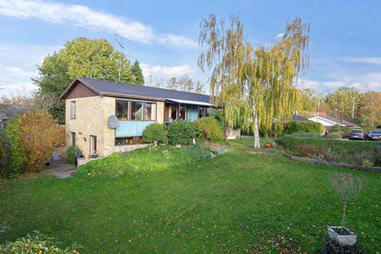 Villa på Mellemvej i Ballerup - Set fra haven