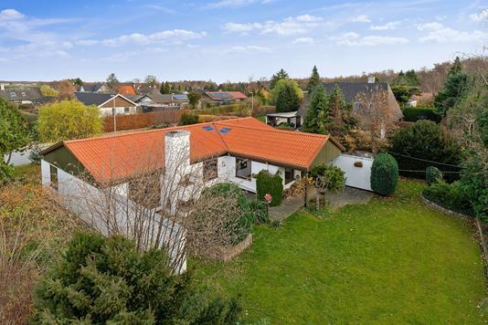 Villa på Digterparken i Ballerup - Set fra haven