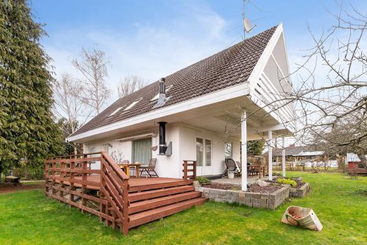 Villa på Agertoften i Ballerup - Set fra haven