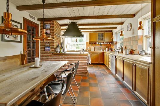Villa på Odderbjergvej i Smørum - Køkken