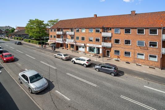 Ejerlejlighed på Måløv Hovedgade i Måløv - Facade