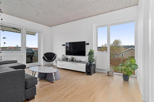 Ejerlejlighed på Vaseholmen i Måløv - Stue
