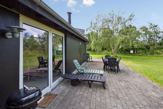 Fritidsbolig på Bülowsvej i Sjællands Odde - Terrasse