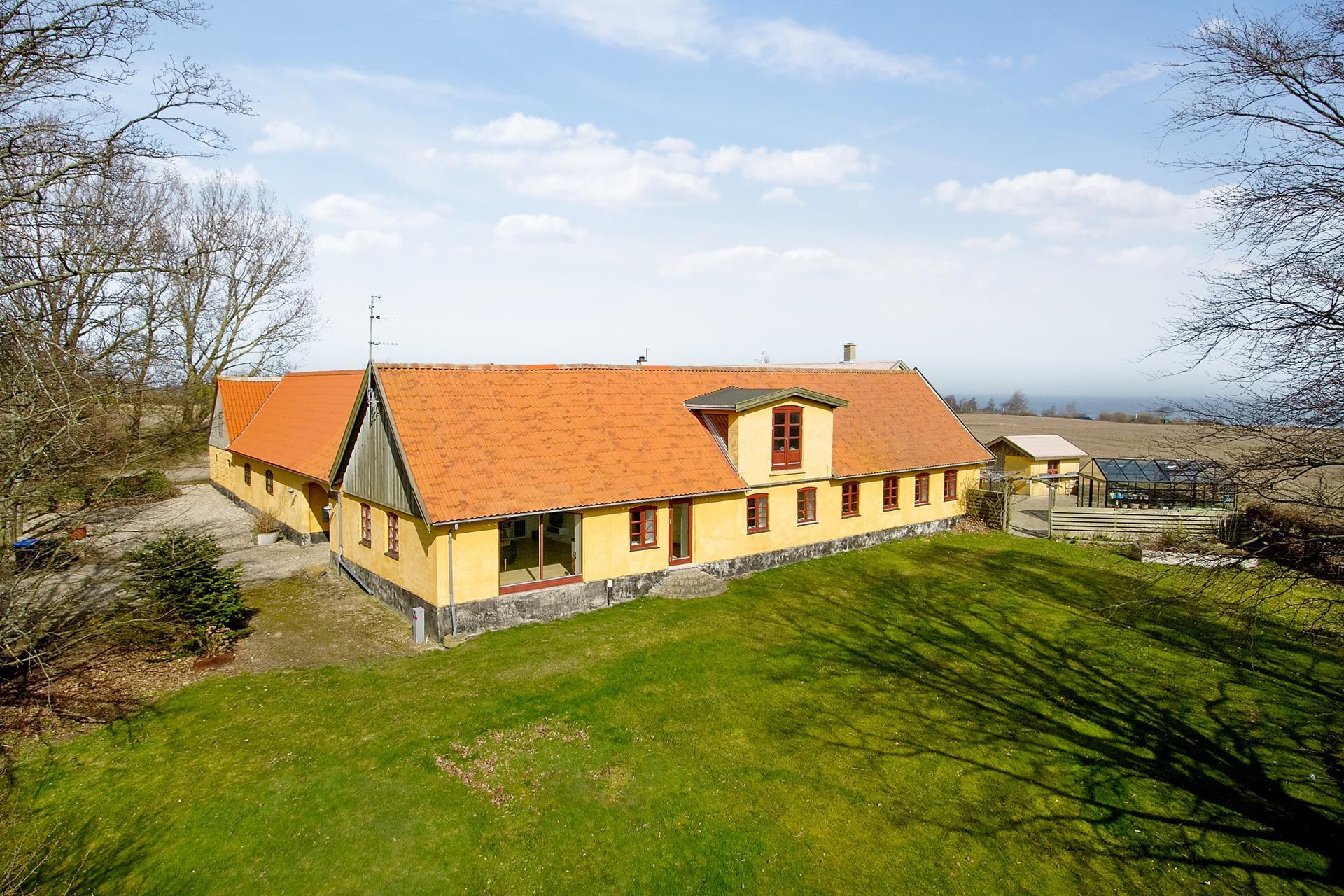 Landejendom på Oddenvej i Sjællands Odde - Andet