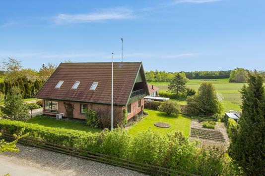 Villa på Krogbakkevej i Vig - Ejendommen