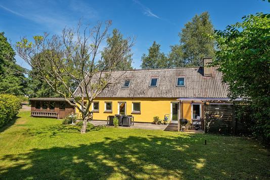 Villa på Kelstrupvej i Vig - Set fra haven