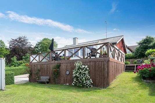 Villa på Gl Nykøbingvej i Vig - Set fra haven