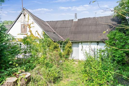 Villa på Egemosevej i Grevinge - Set fra haven