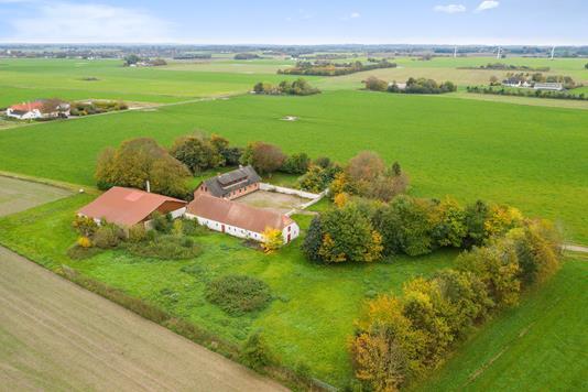Villa på Nordvej i Svinninge - Luftfoto