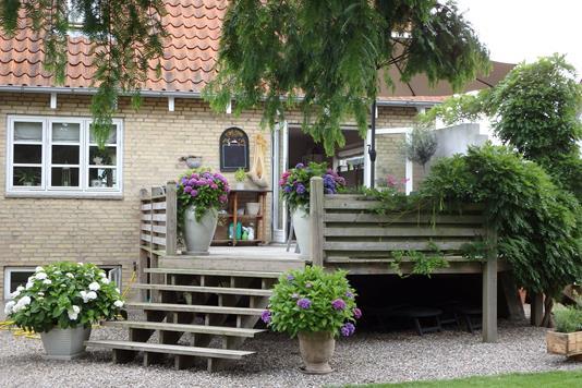 Villa på Skelstrupvej i Maribo - Terrasse