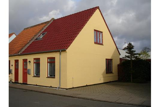 Villa på Nørrebrogade i Maribo - Ejendommen