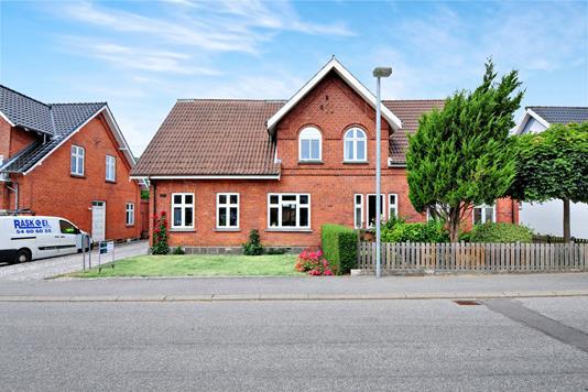 Villa på Saxes Alle i Sakskøbing - Ejendommen