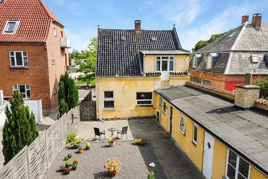 Villa på Bangshavevej i Maribo - Terrasse