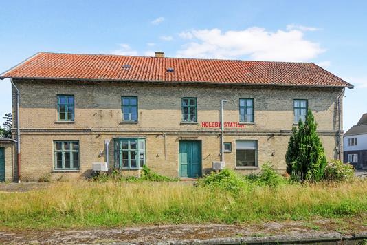 Villa på Jernbanevej i Holeby - Ejendom 1