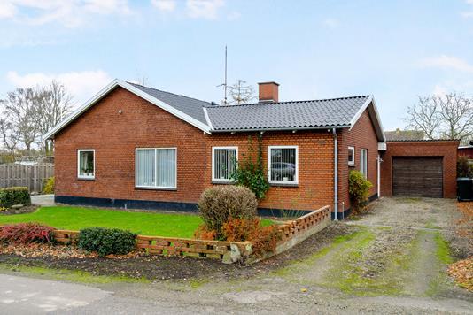 Villa på Musse Gade i Nysted - Ejendommen